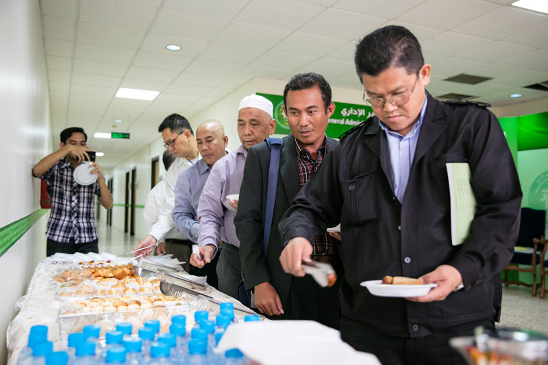 Visiting delegation from the Mara University of Technology, Malaysia on 28th Safar 1438 AH