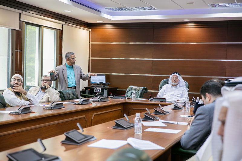 Wednesday Dialogue Entitled 'Medical Insurance Reform in Saudi Arabia' Presented by Prof. Mohd Ma'Sum Billah, on 18-5-1438h