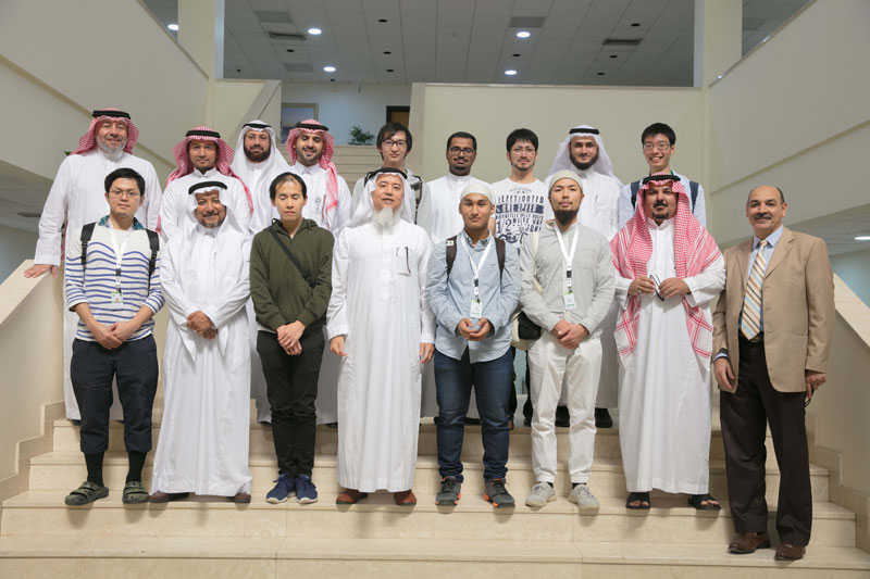 'Japanese Knowledge Exchange' delegation visits to the institute.